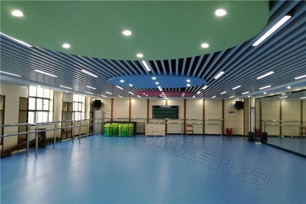 舞蹈地胶--深圳市龙华区中心小学舞蹈室成功案例