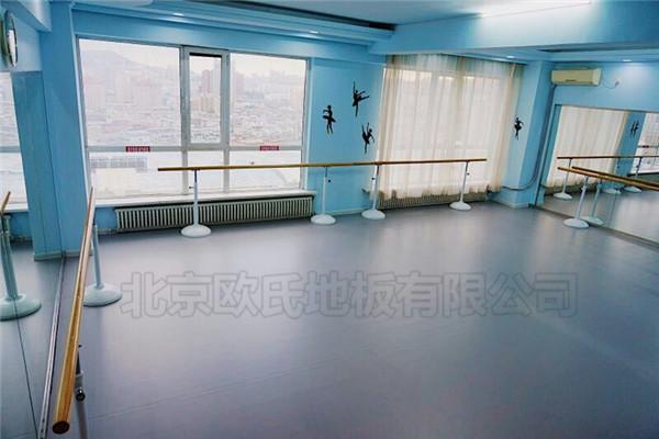 舞蹈室地胶--大连艺芯芭蕾工作室成功案例