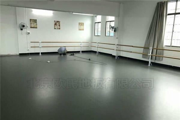 舞蹈室地胶--湖南永州蓝山县红蕾艺术学校案例