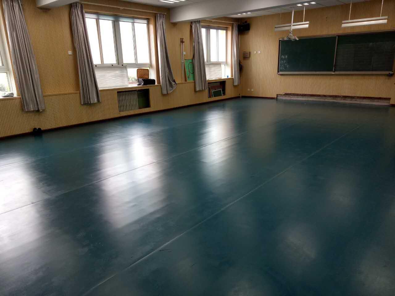 舞蹈室地胶--北京丰台草桥舞蹈成功案例-小学小学书音乐图片